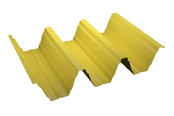 Imagen perfil Chapa Trapezoidal GP-155/280 gran canto para grandes luces