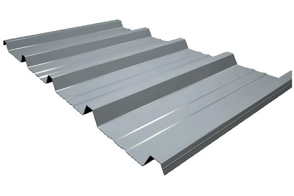 Chapa GP-40/250, trapezoidal para cubiertas DECK